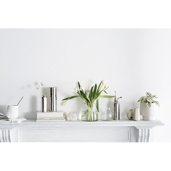 ZAKKIA Tapered Vase - Clear