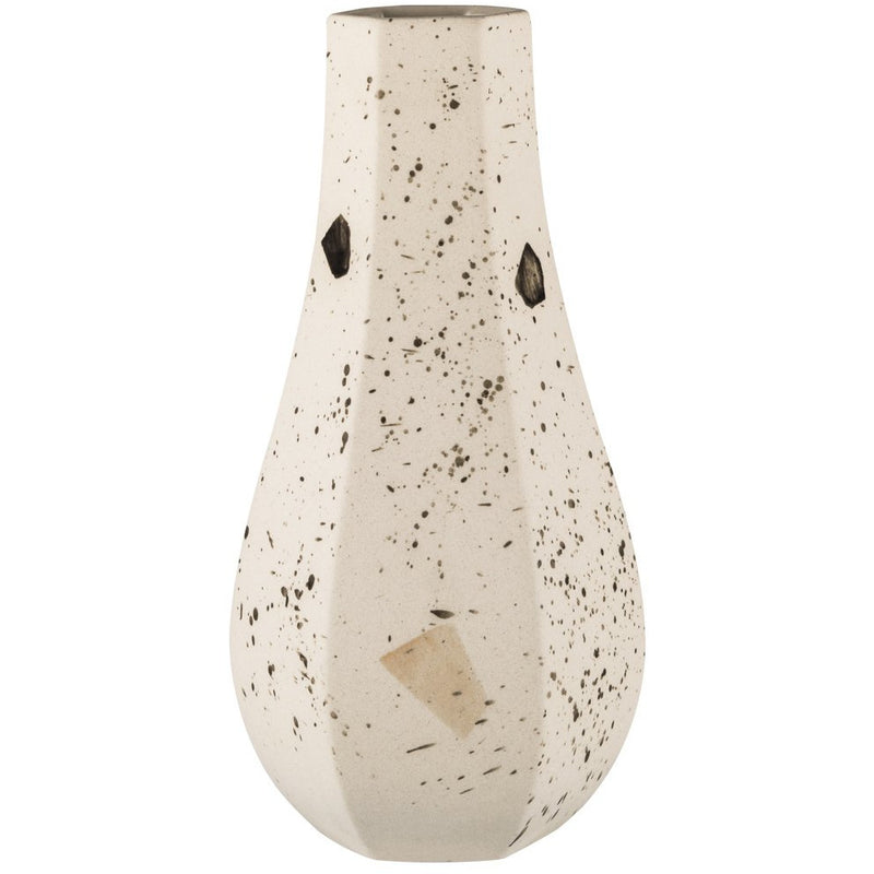 ZAKKIA | Carved Vase Curved - Confetti