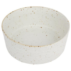 ZAKKIA | Speckle Bowl - Medium Snow