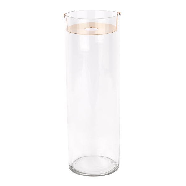 ZAKKIA | Botanical Vase - Tall Brass