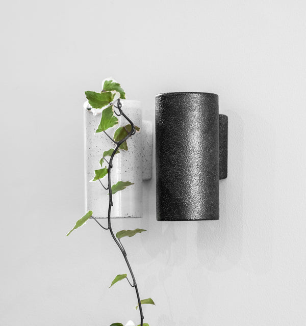 ZAKKIA | Embers Wall Planter - Small Charred