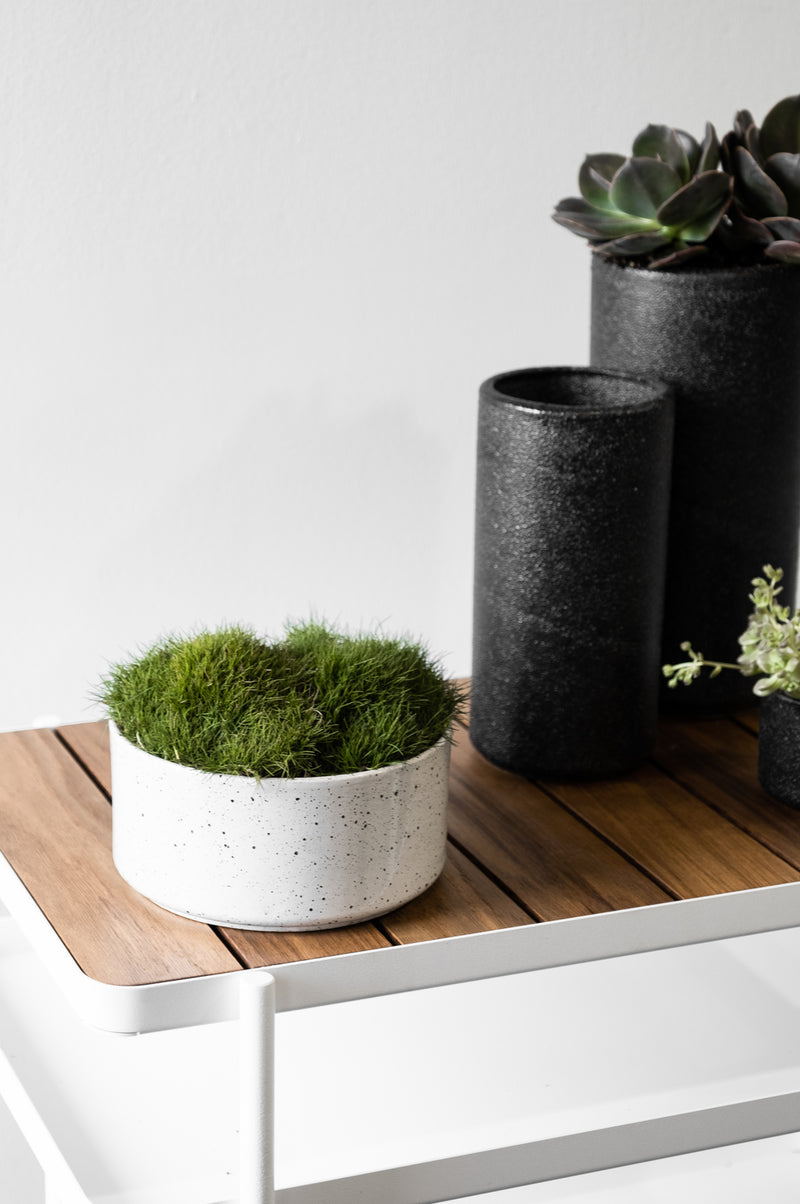 ZAKKIA | Embers Bowl Planter - Medium Charred