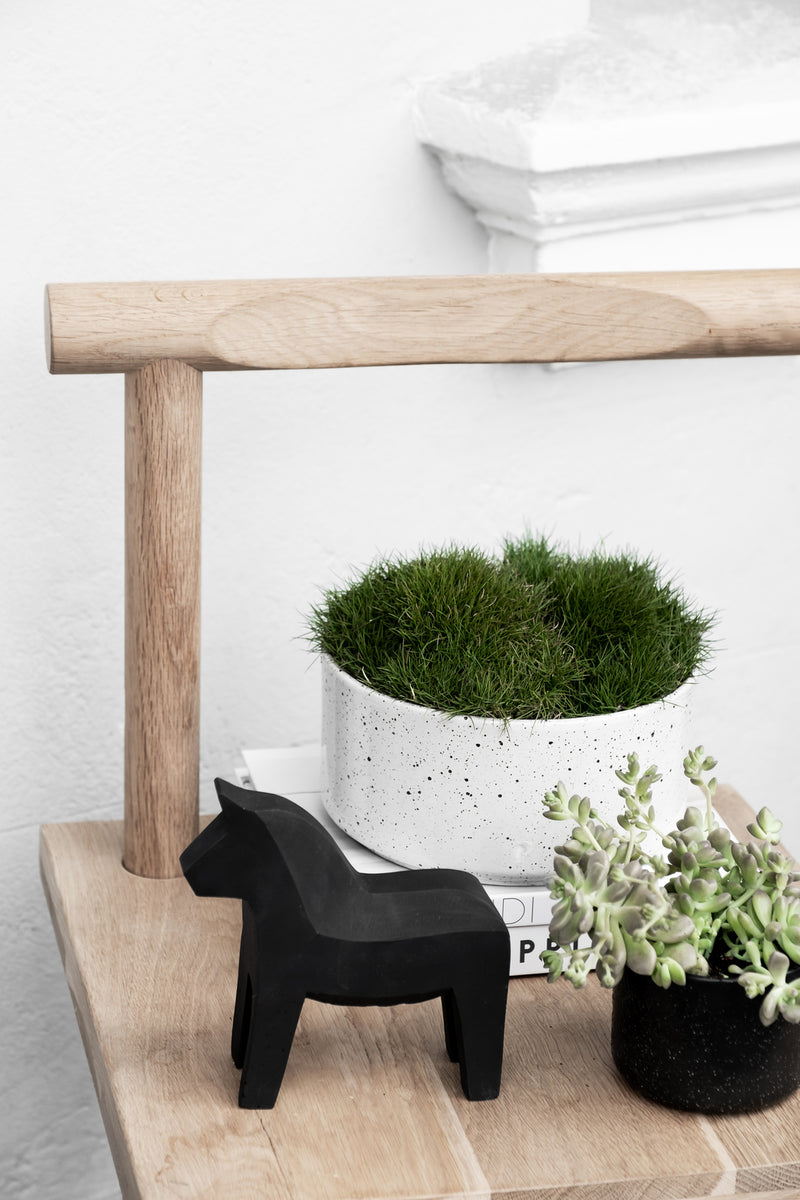 ZAKKIA | Embers Bowl Planter - Small Ash
