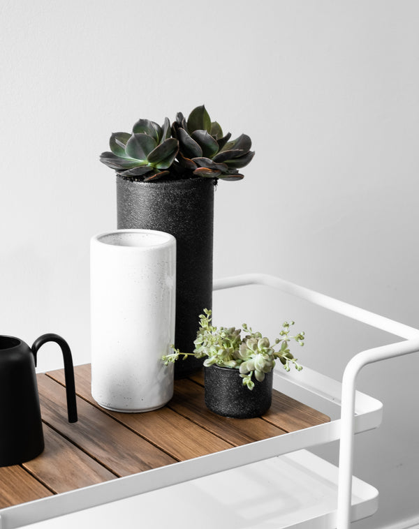 ZAKKIA | Embers Bowl Planter - Small Charred