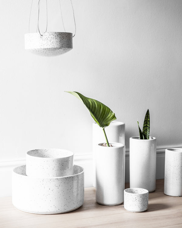 ZAKKIA | Embers Table Planter - Large Ash