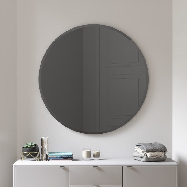 "UMBRA | Hub Mirror - Bevy 36"" - Smoke"