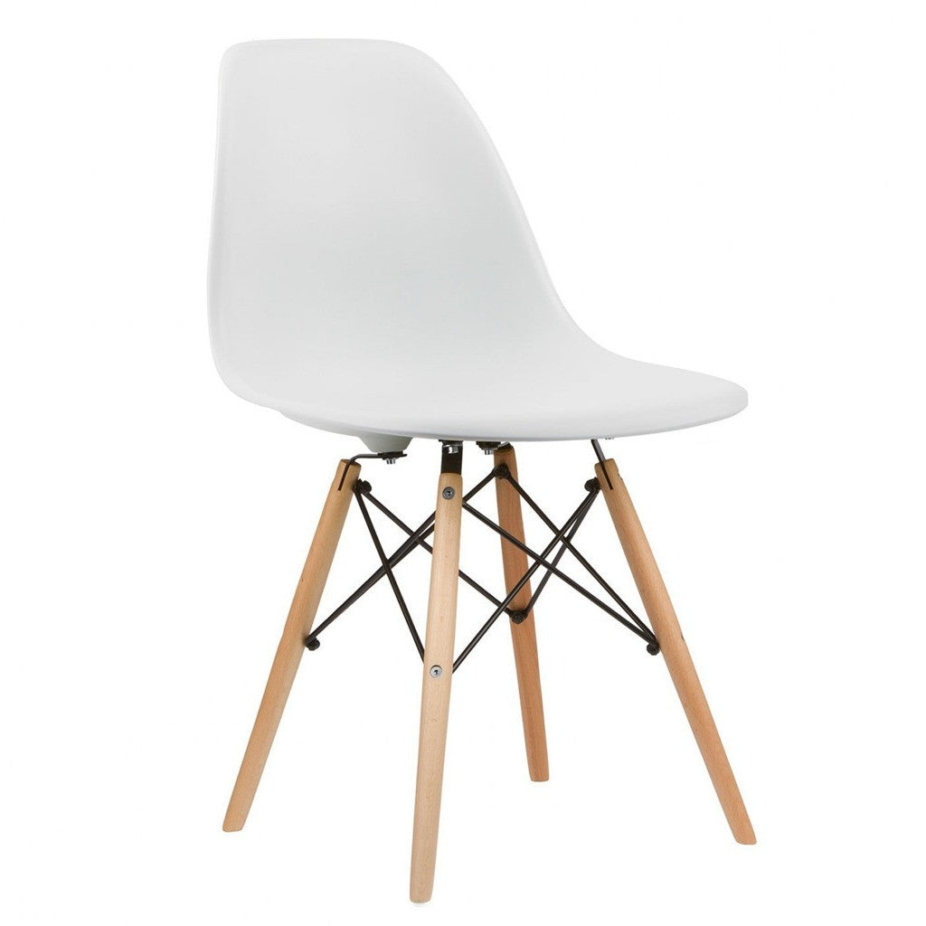 Eames dining chair replica - Eames Replica Dsw Dining Chair