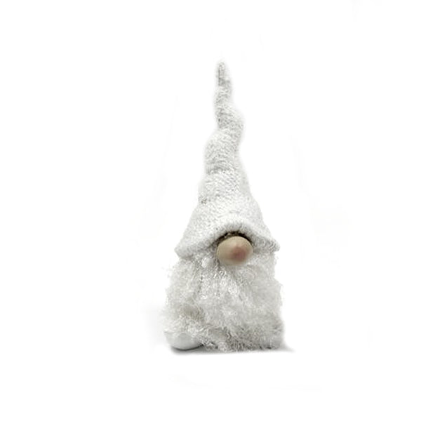 White Resin Gnome Small