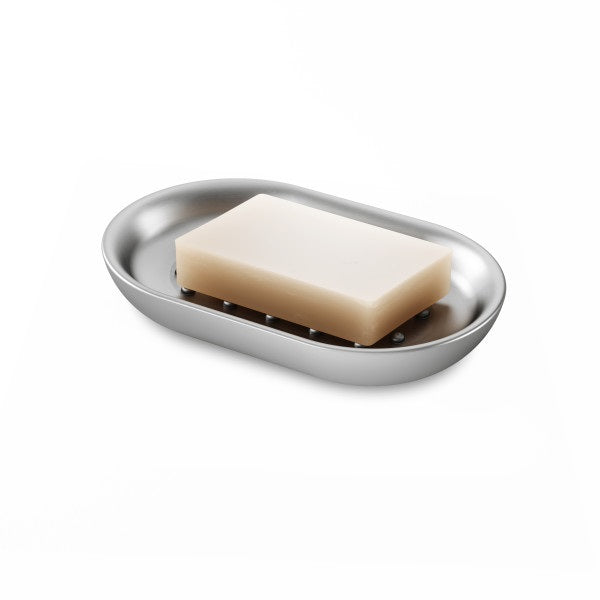 UMBRA | Junip Oval Soap Dish - Stainless Steel