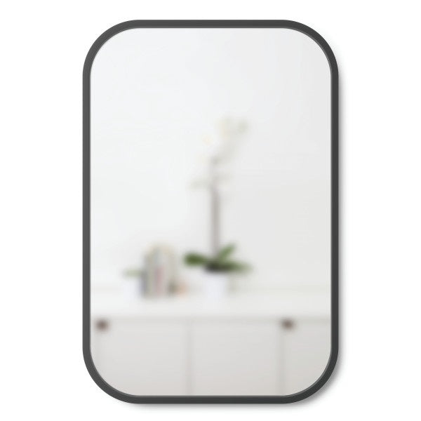 "UMBRA | Hub Mirror - Rectangle 61X91"" Black"