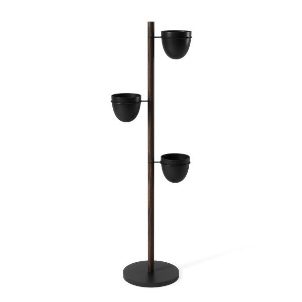 UMBRA | Floristand Planter - Black / Walnut