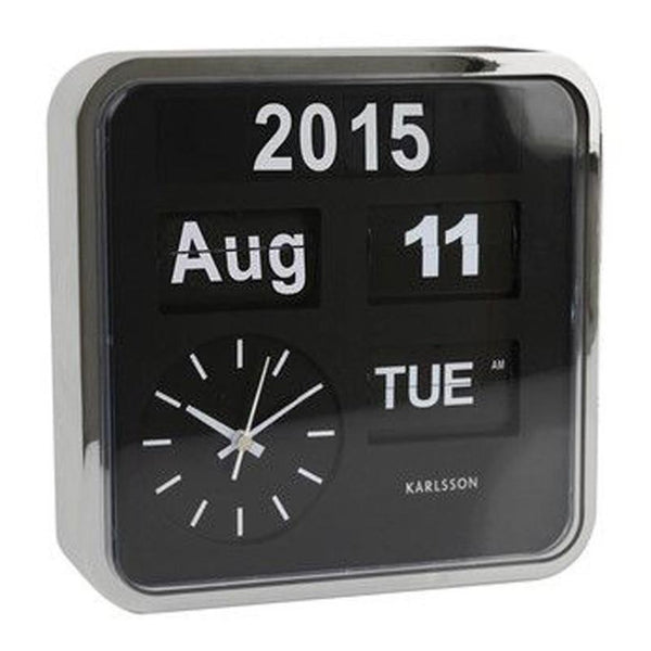 Flip Clock - Karlsson - Various Sizes & Colours.