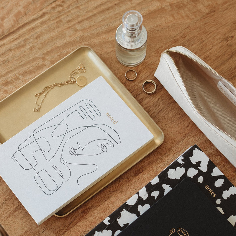 Papier HQ | Abstract face notebook