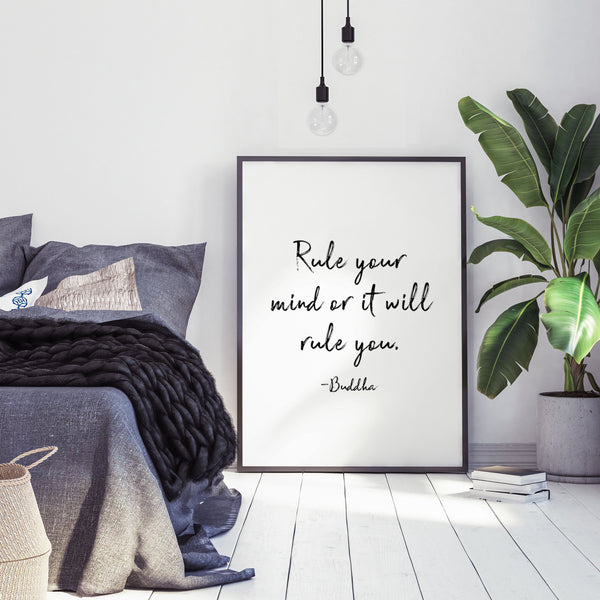 PAPIER HQ | RULE YOUR MIND PRINT