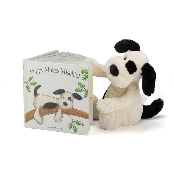 Jellycat | Puppy Makes Mischief Book