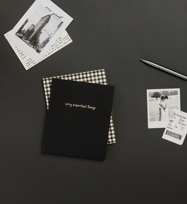 Emma Kate Co | Very Important Things | A5 Notebook | Dot Grid