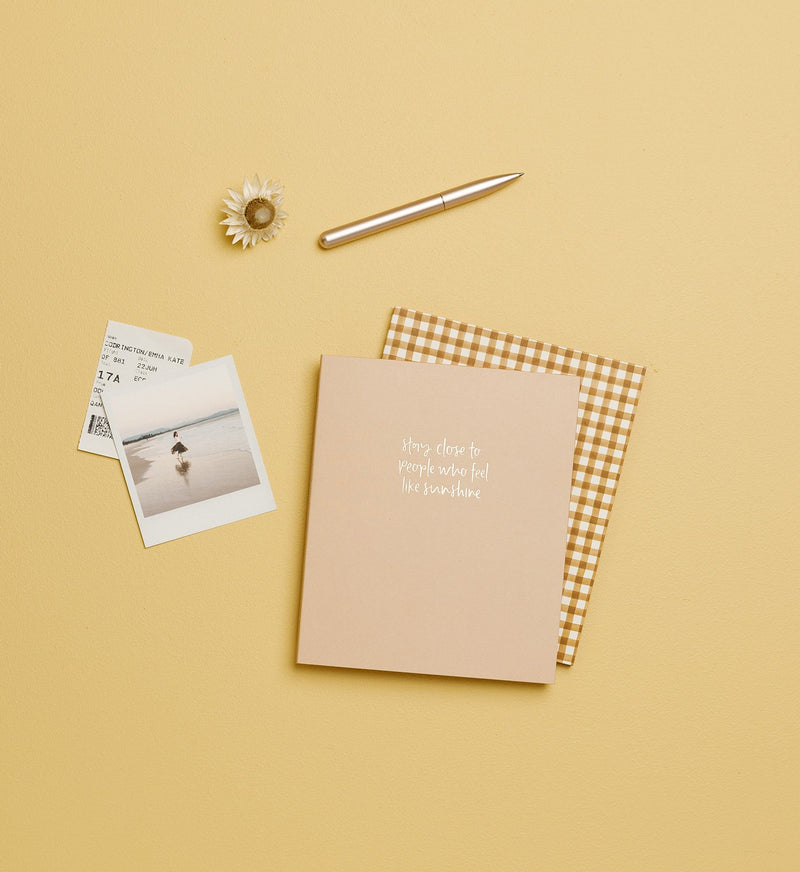 Emma Kate Co | Like Sunshine | A5 Notebook | Dot Grid