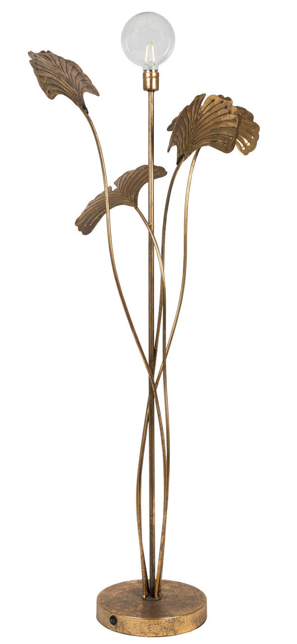 METAL LED LILY FLOOR LAMP