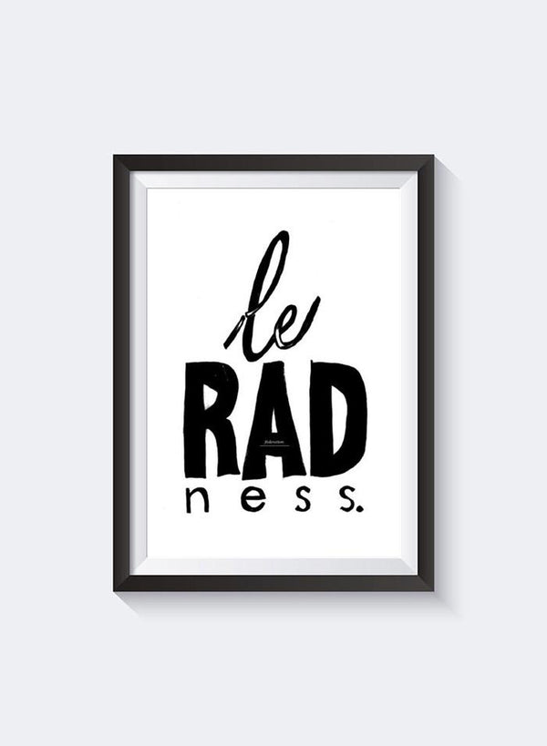 Federation | Le Radness Print