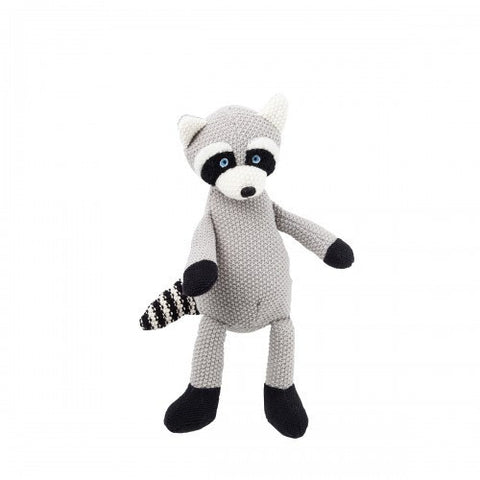 Wild Ones Racoon Knitted Soft Toy
