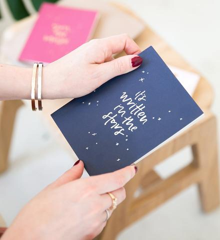 Emma Kate Co | Written In The Stars | Pocket Journal | Silver