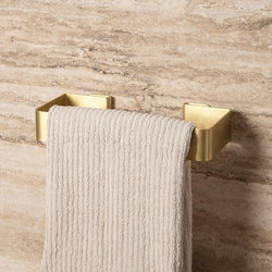 Made of Tomorrow | Fold Hand Towel Holder - Brass