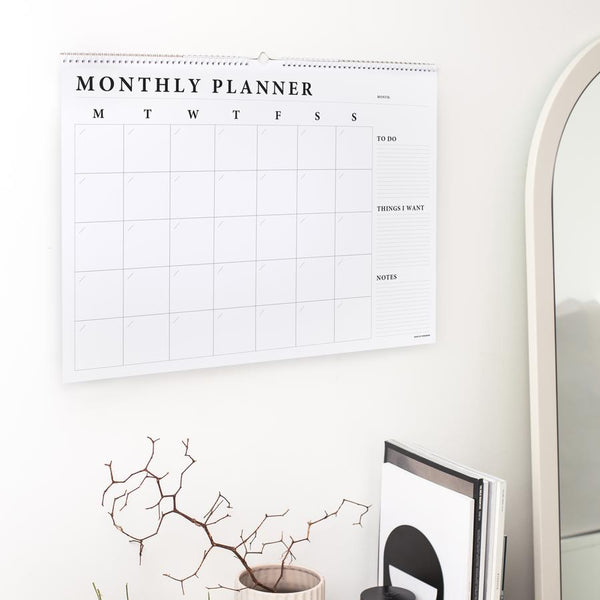 Monthly Wall Planner