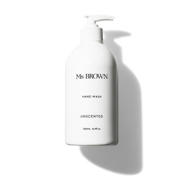 MS BROWN | UNSCENTED HAND WASH