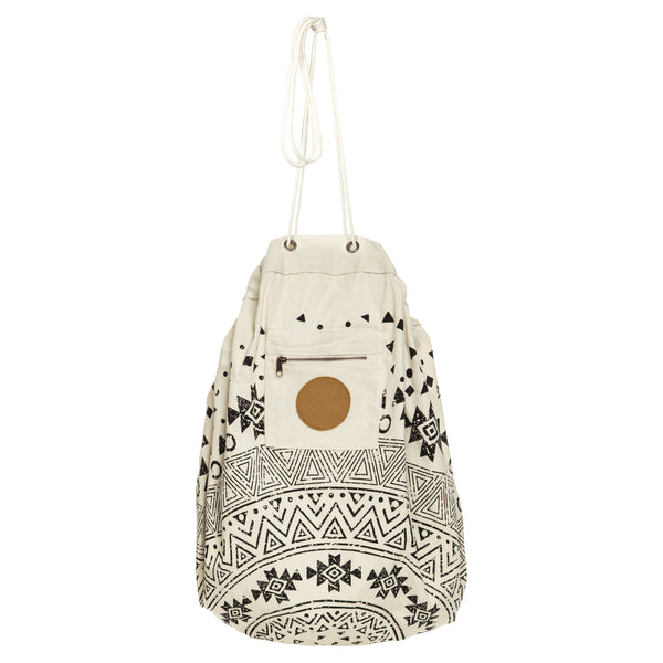 Play Pouch | Tribal Printed Play Pouch in Natural