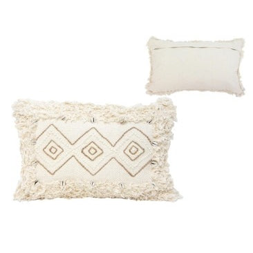 NEERAV CUSHION WITH SHELLS - NATURAL