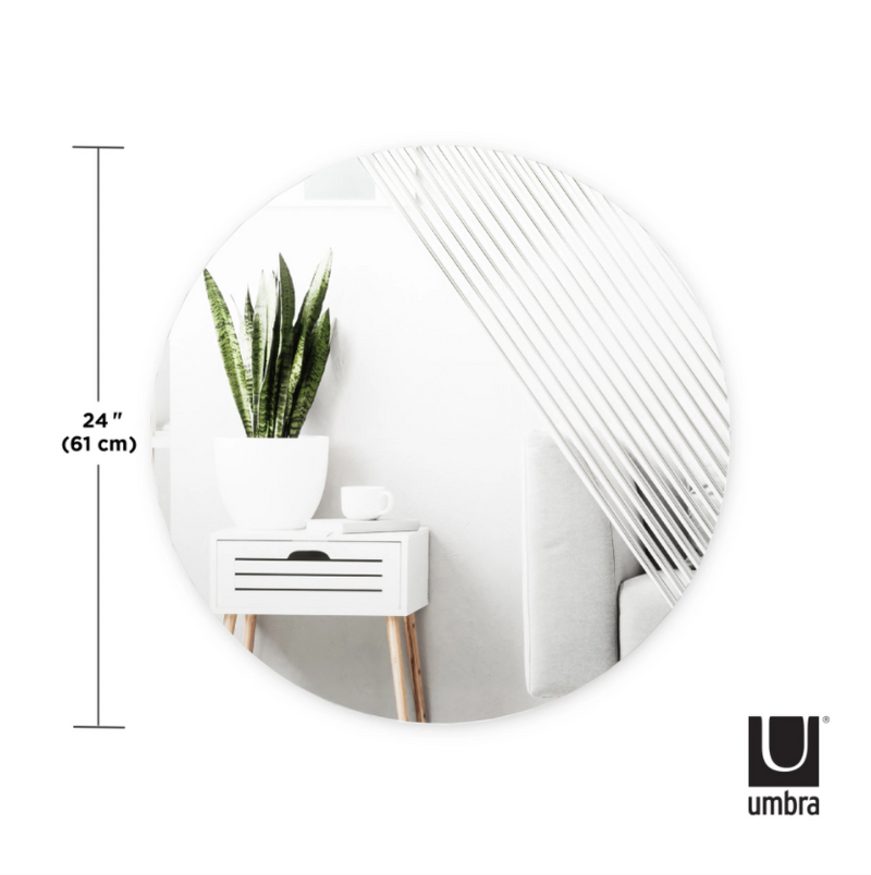 UMBRA | RIDGE WALL MIRROR