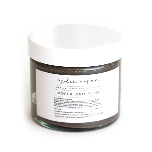 Indie + Mae | Ritual Mocha Body Polish in Jar