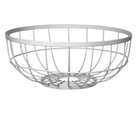 Open Grid' Fruit Basket - White