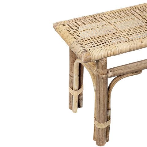 Natural Wood Bench Seat