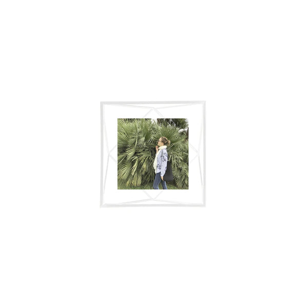 UMBRA | PRISMA PHOTO FRAME 4 X 4 White