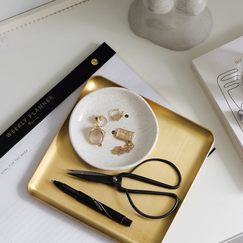 Papier HQ | Brass tray