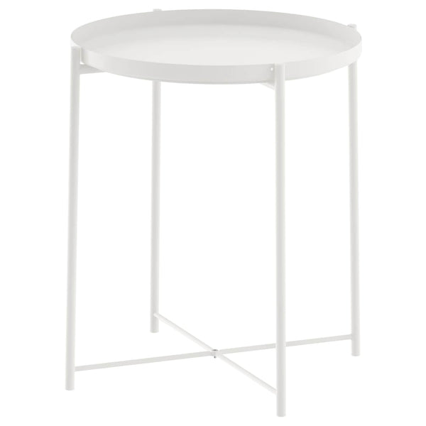 White Tray Table