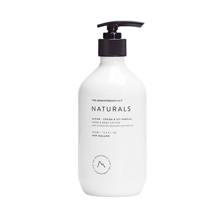Naturals Hand & Body Lotion Alpine - Cocoa & Icy Vanilla