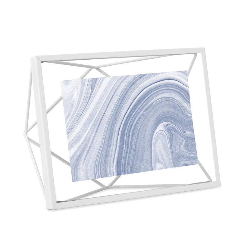 UMBRA | PRISMA PHOTO FRAME 4 X 6 White