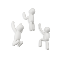Umbra | Buddy Hooks White - Set of 3