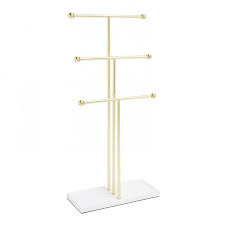 UMBRA | TRIGEM JEWELRY STAND - BRASS