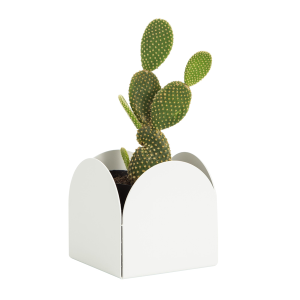 Made of Tomorrow | Fold Arch Pot - White