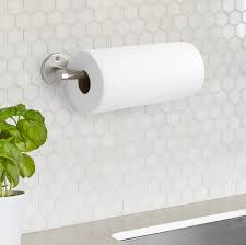 Umbra | Cappa Wall Mounted Paper Towel Holder - Nickel
