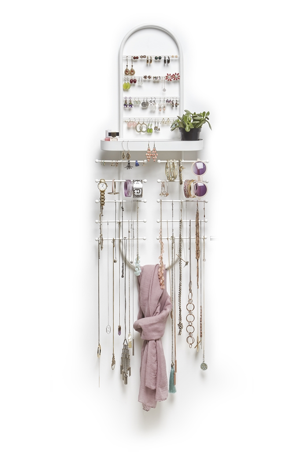 UMBRA | Valerina Over the Door Jewellery Organizer