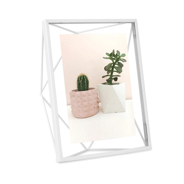 UMBRA | PRISMA PHOTO FRAME 5 X 7 White