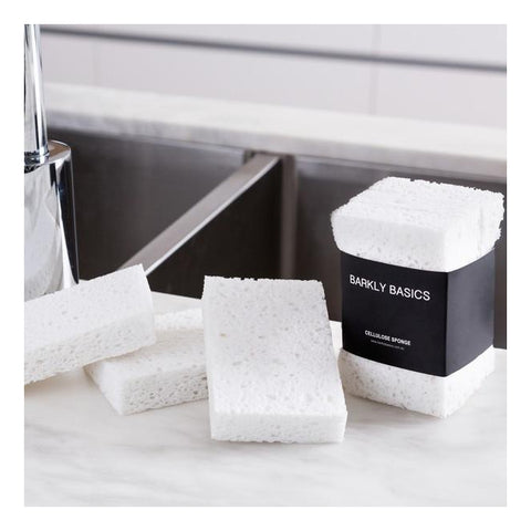 BARKLY BASICS - All White Cellulose Sponge