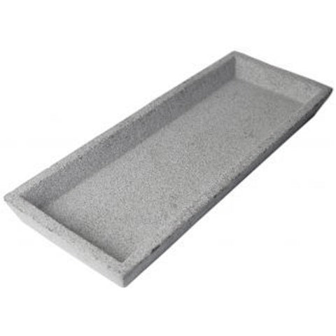 Natural Rectangle Concrete Tray