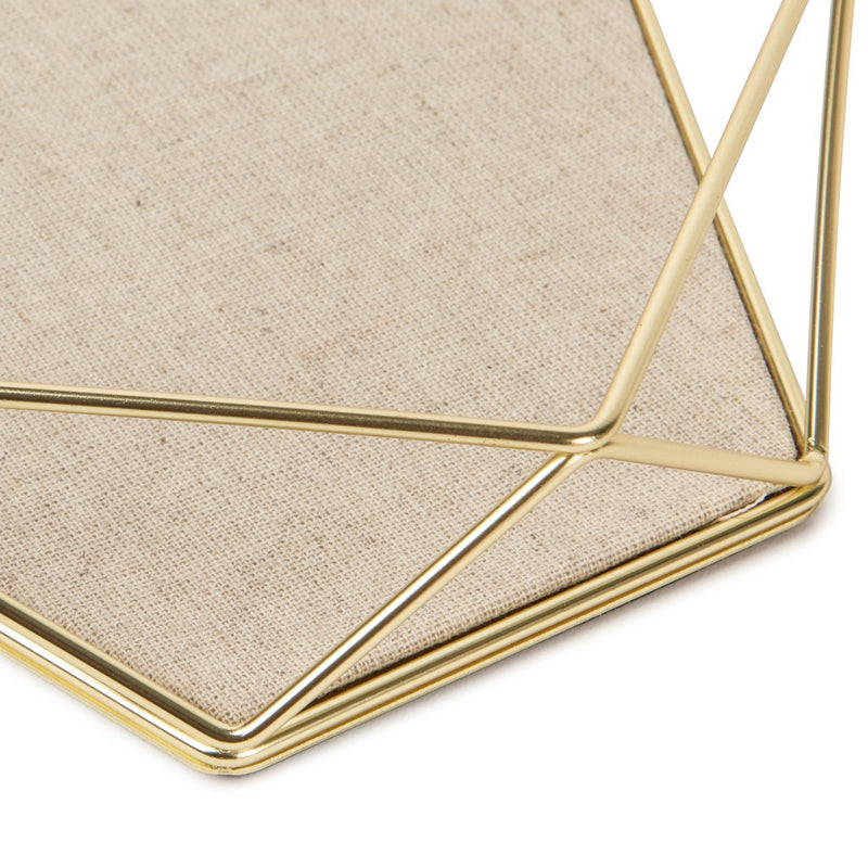 Umbra | Prisma Jewellery Tray - Matt Brass