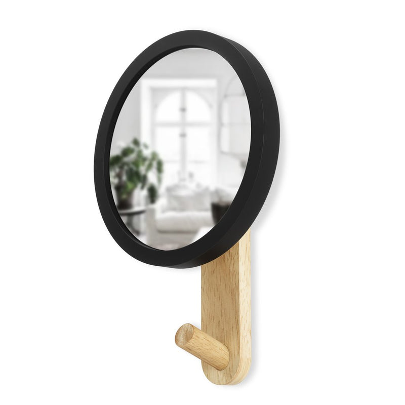 UMBRA | Hub Mirror Hook - Black/Natural