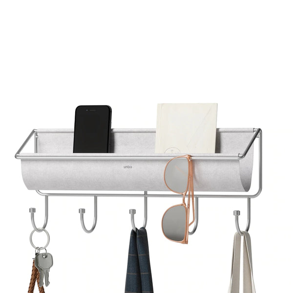 UMBRA | HAMMOCK WALL ORGANIZER GREY